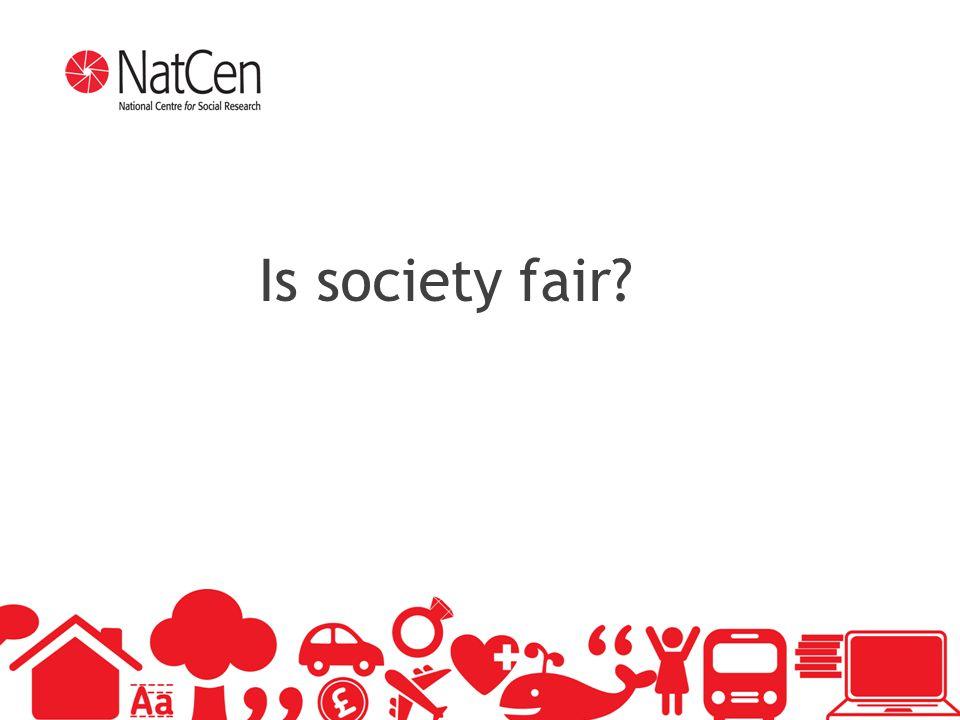 6 Is society fair