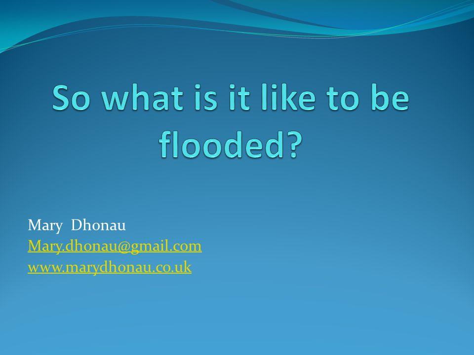 Mary Dhonau Mary.dhonau@gmail.com www.marydhonau.co.uk