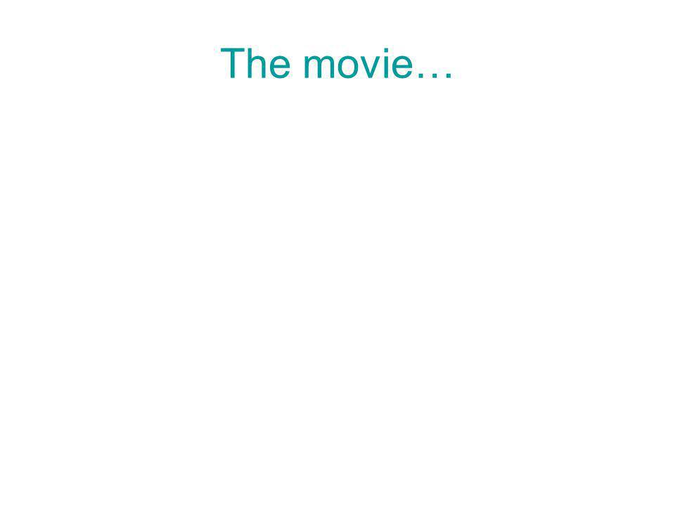 The movie…