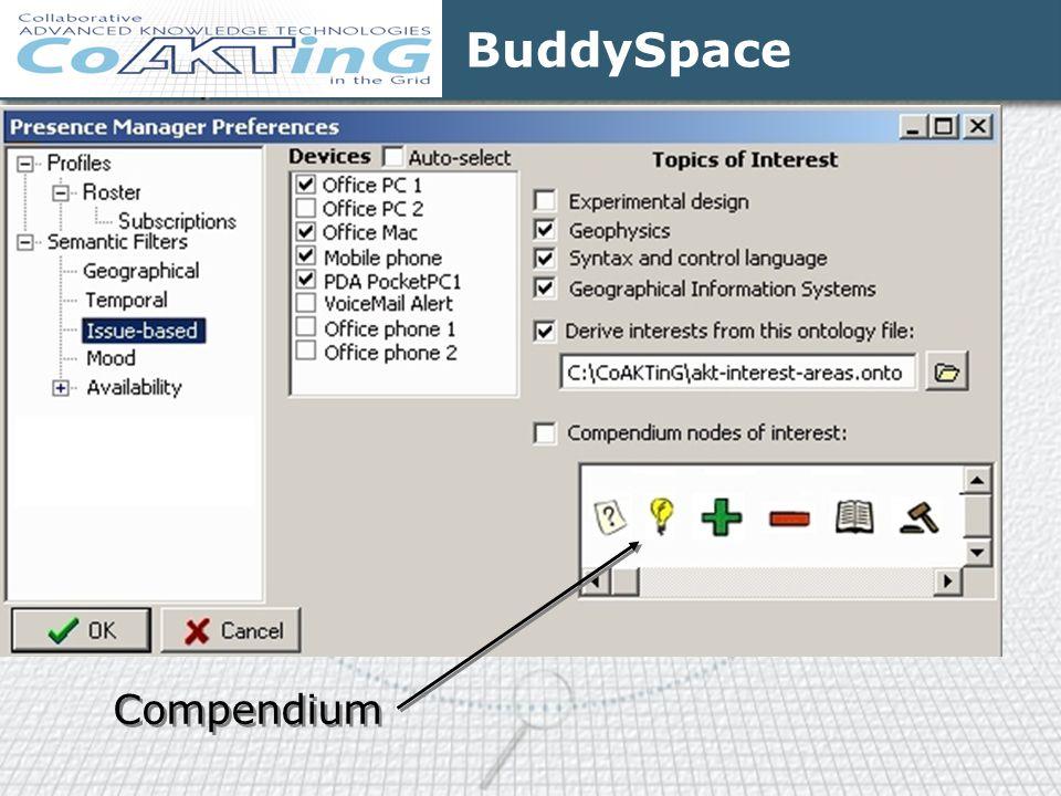 BuddySpace Compendium