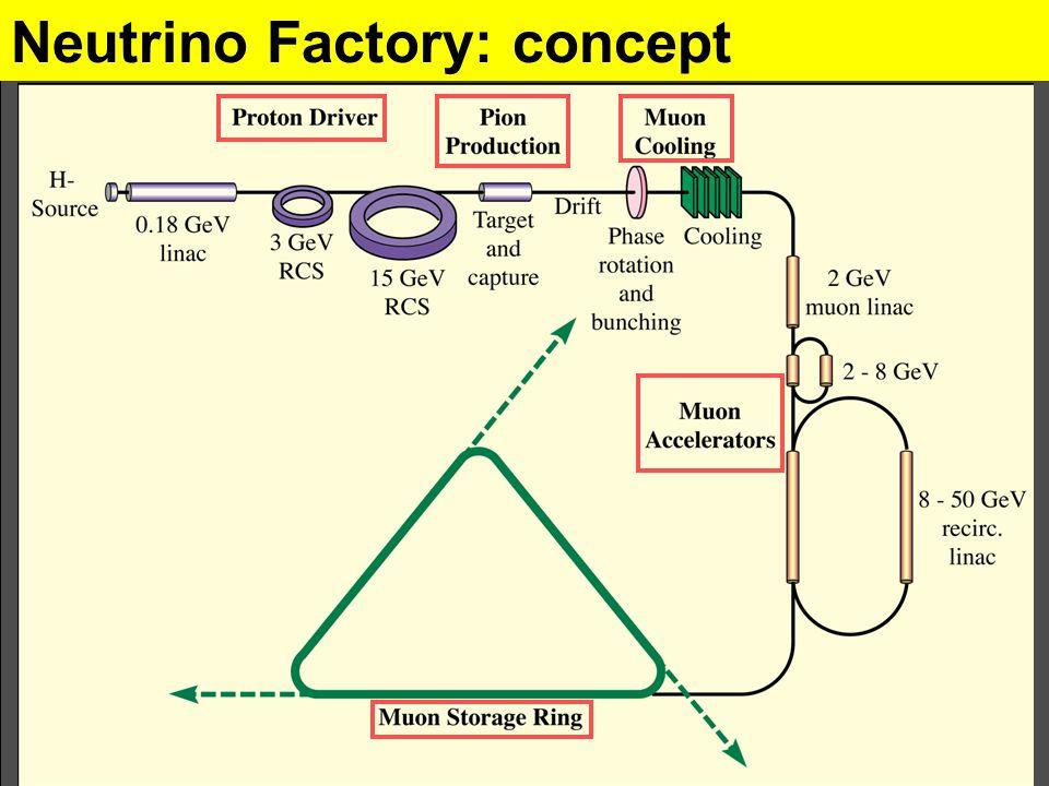 Neutrino Factory: concept