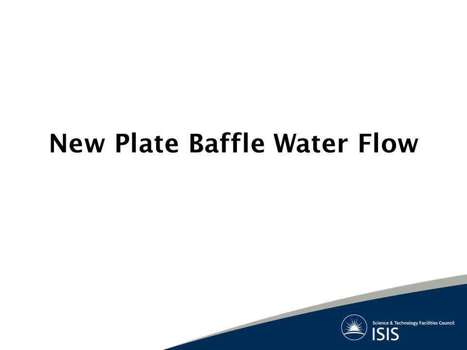New Plate Baffle Water Flow
