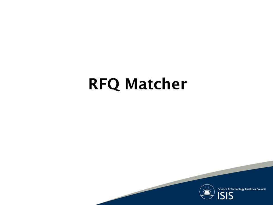 RFQ Matcher