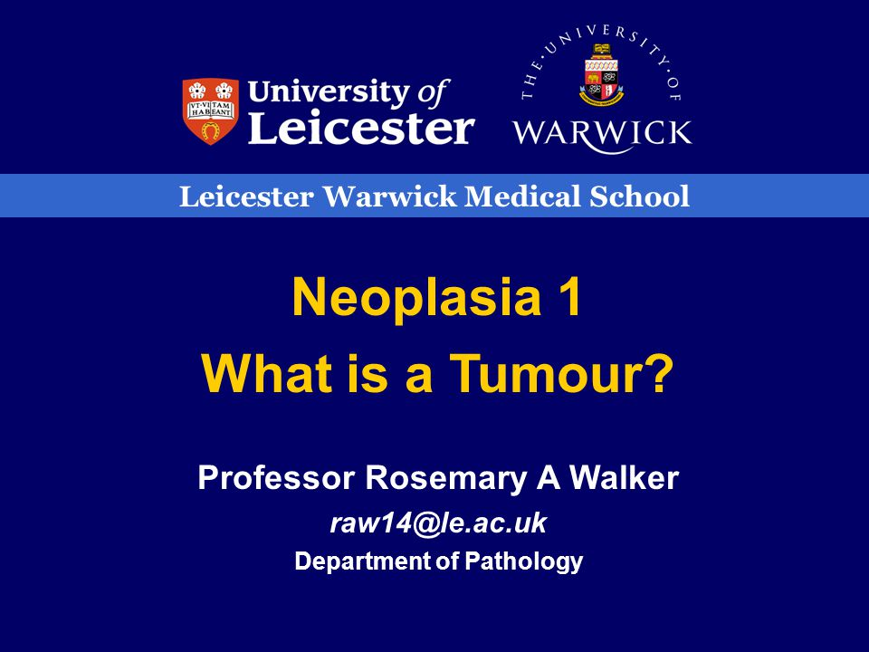 WHAT IS A TUMOUR? a swelling inflammatory – abscess neoplasm - growth
