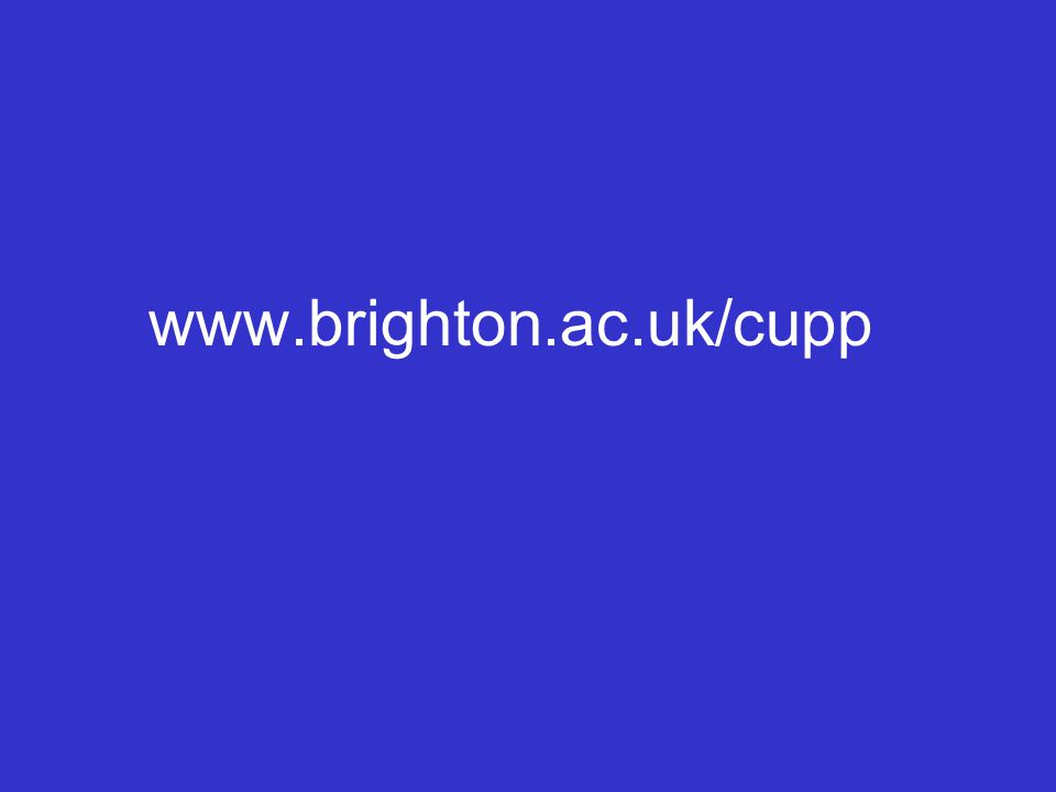 www.brighton.ac.uk/cupp