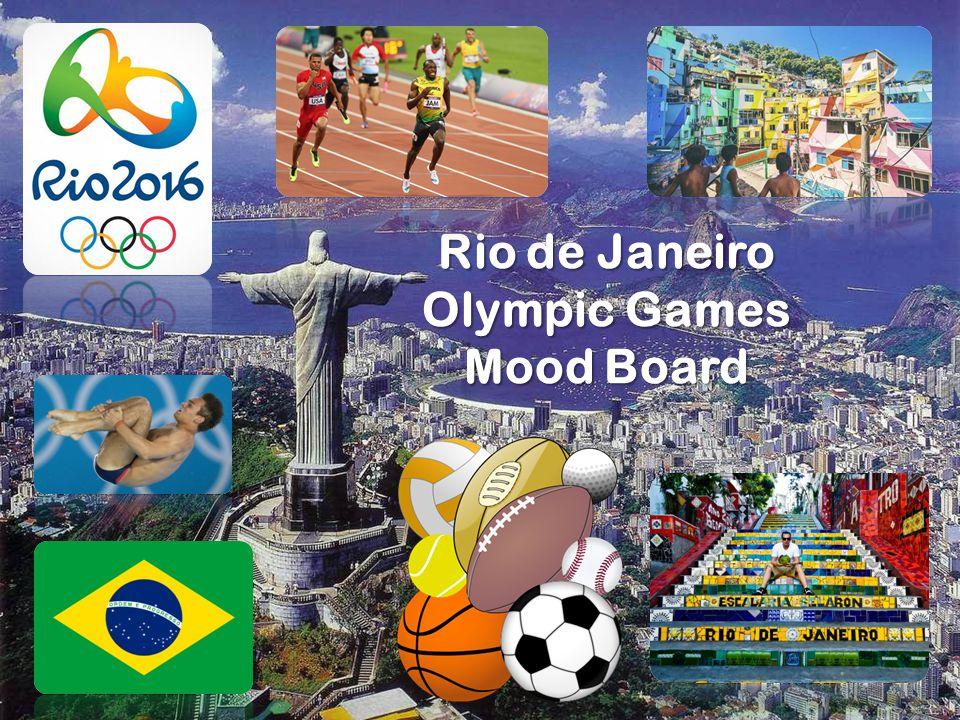 Rio de Janeiro Olympic Games Mood Board