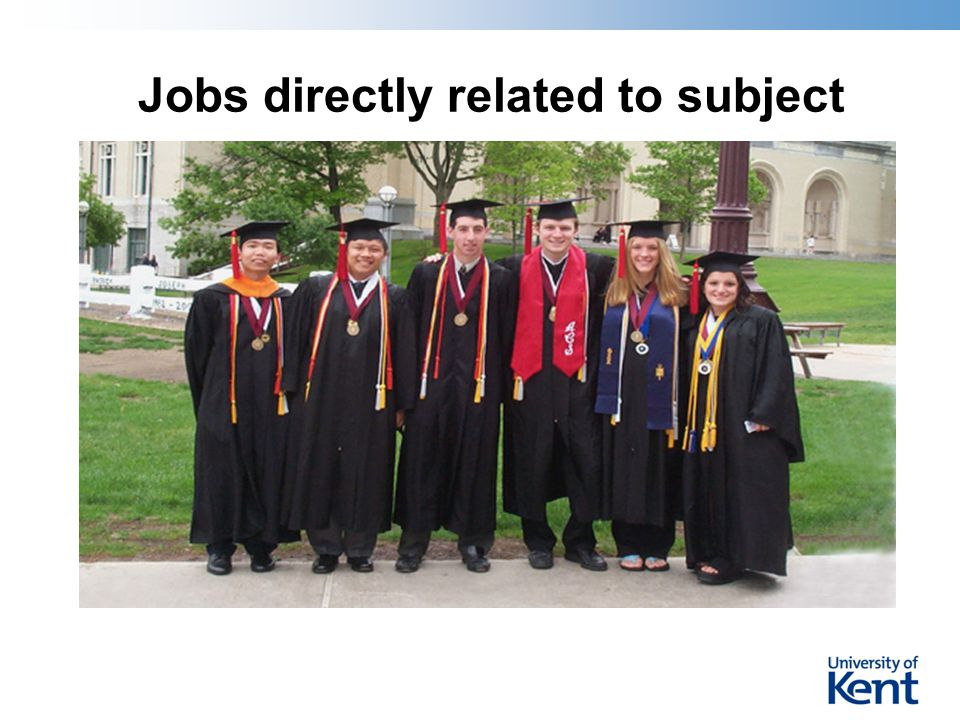 Jobs directly related to subject