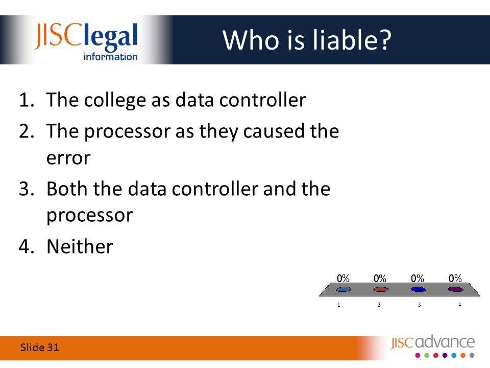 Slide 31 Who is liable.