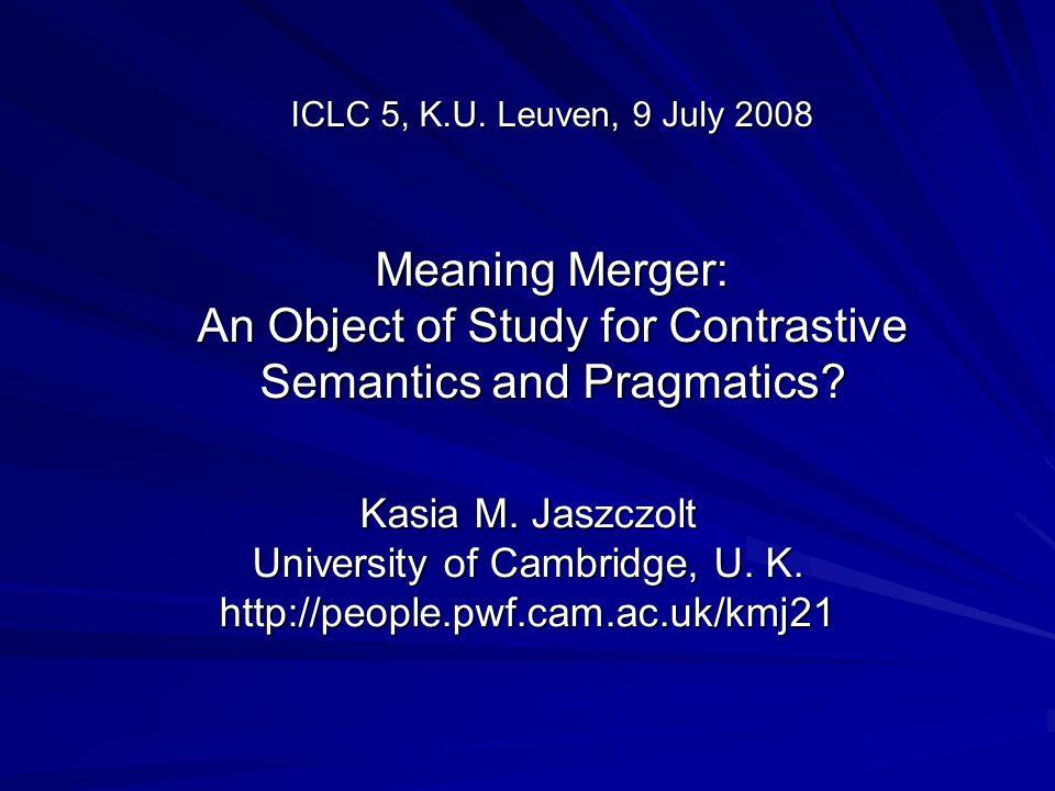 ICLC 5, K.U.