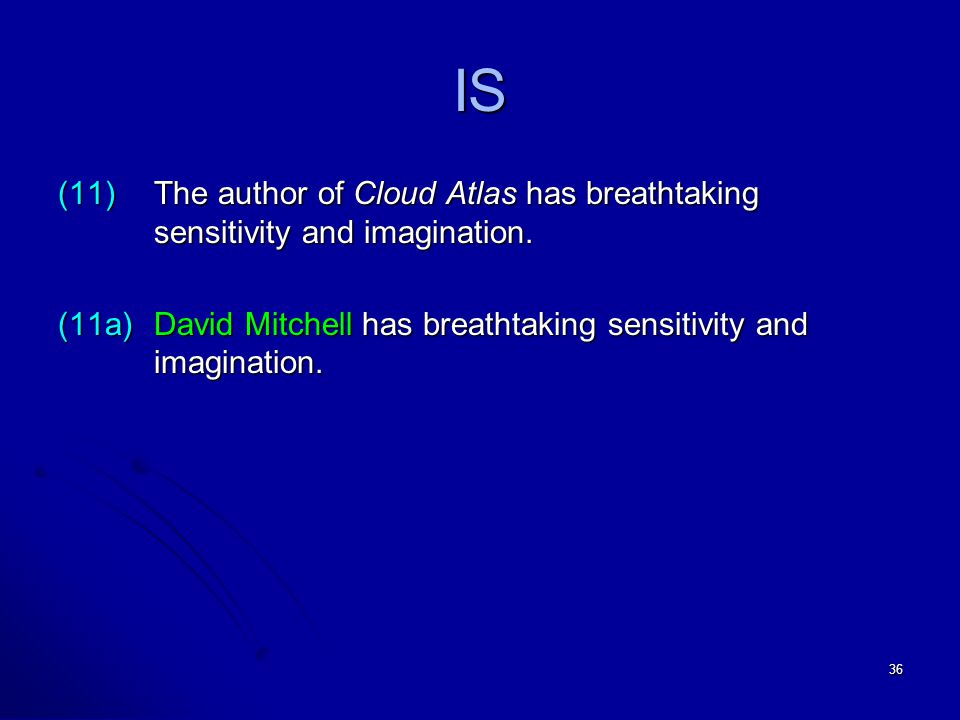 36 IS (11)The author of Cloud Atlas has breathtaking sensitivity and imagination.