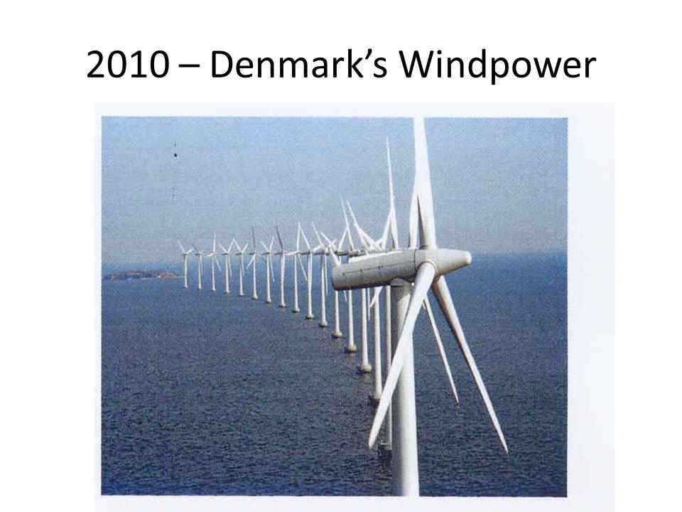 2010 – Denmark's Windpower