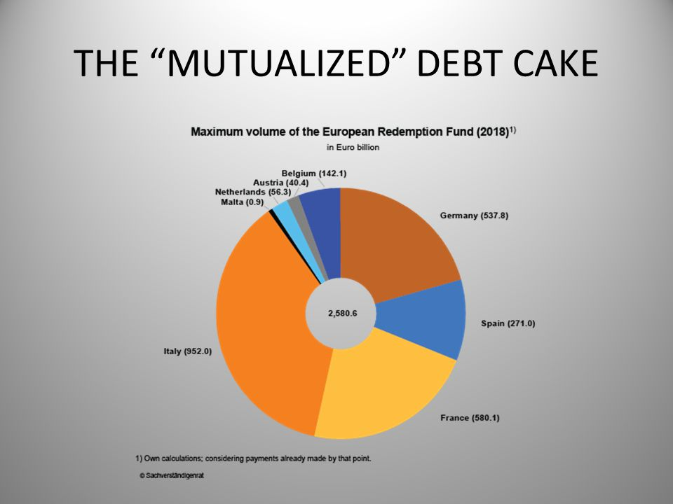 THE MUTUALIZED DEBT CAKE