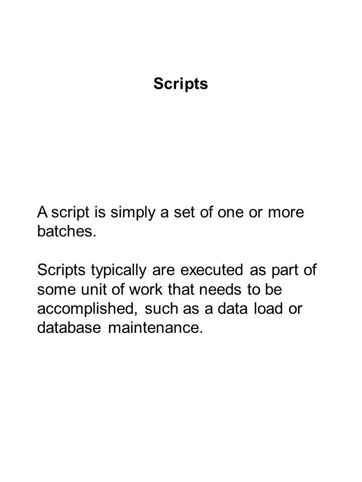 Example of a script.