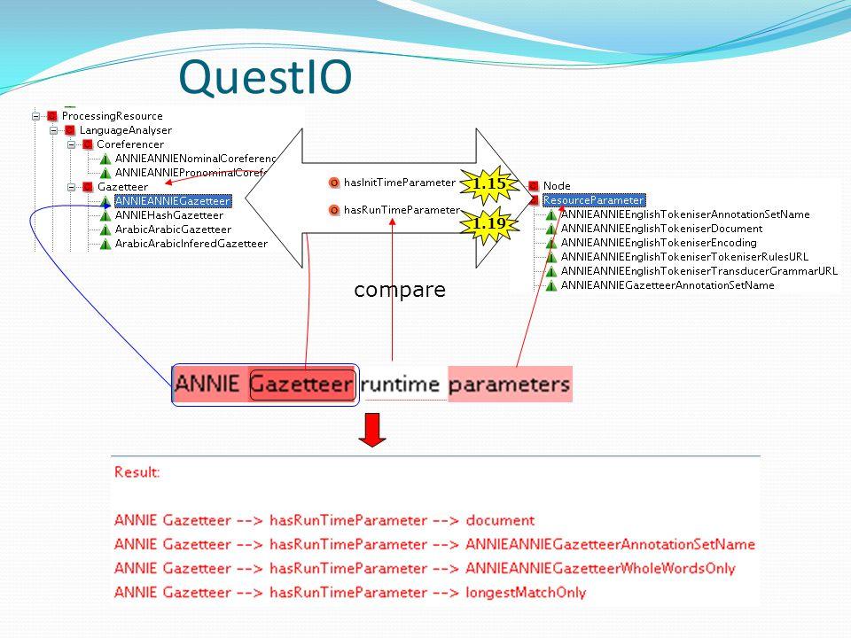 QuestIO 1.15 1.19 compare