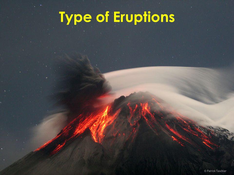 Type of Eruptions
