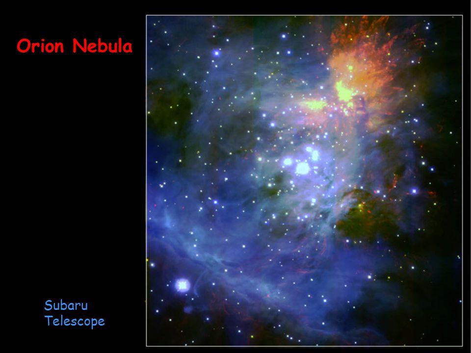 Canterbury 01.09.2014 Subaru Telescope Orion Nebula