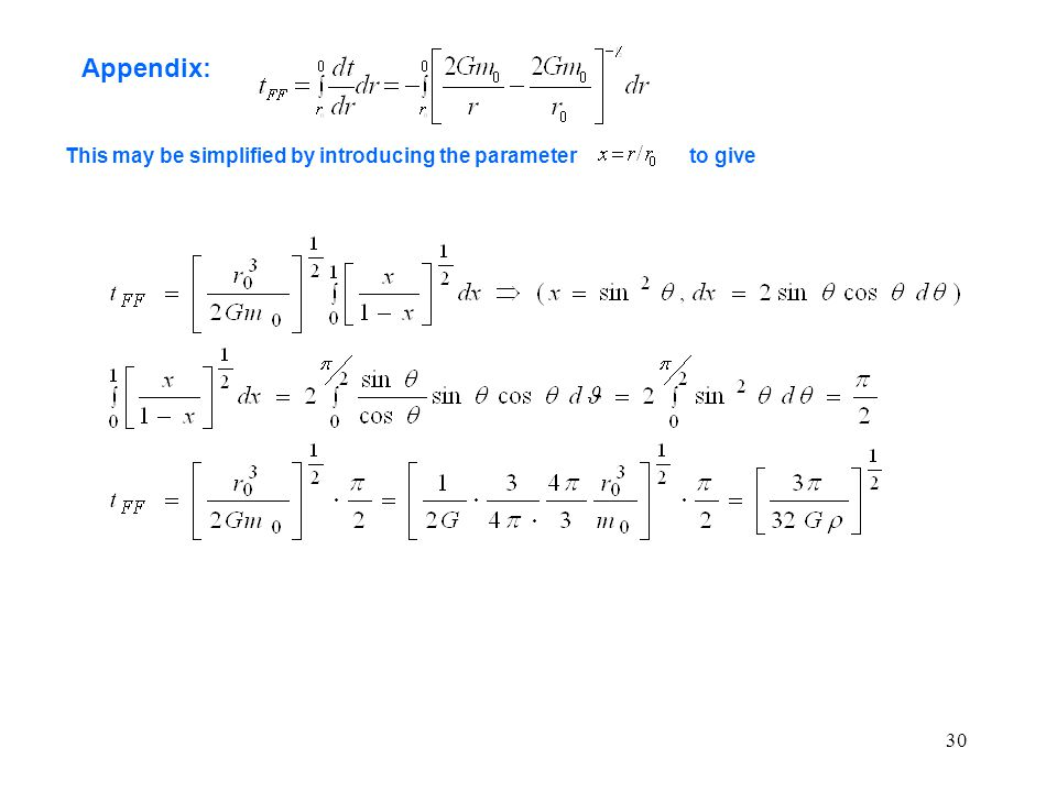 30 Appendix: This may be simplified by introducing the parameterto give