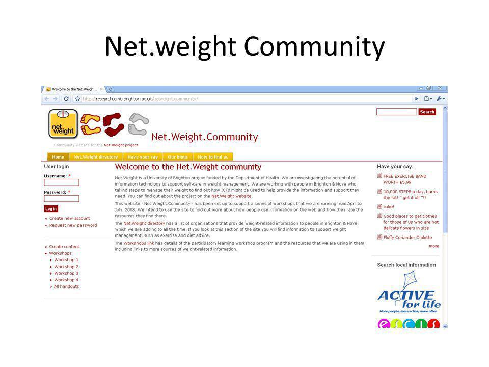Net.weight Community