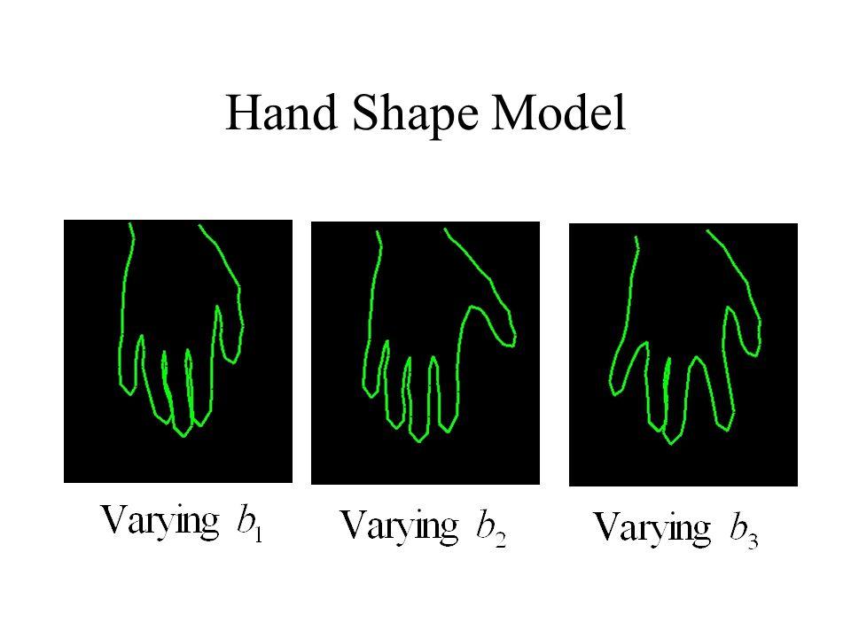 Hand Shape Model