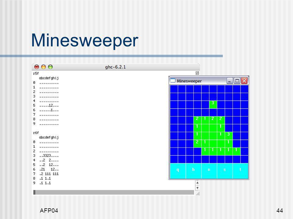 AFP0444 Minesweeper