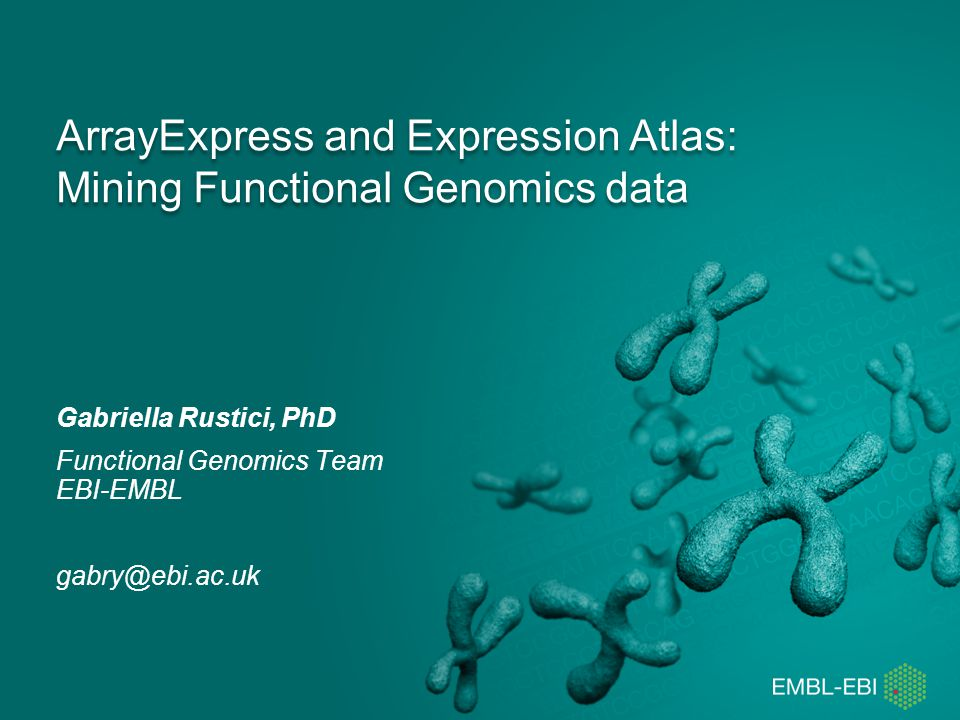 Searching for experiments in ArrayExpress www.ebi.ac.uk/arrayexpress/experiments/browse.html www.ebi.ac.uk/arrayexpress/experiments/browse.html ArrayExpress22