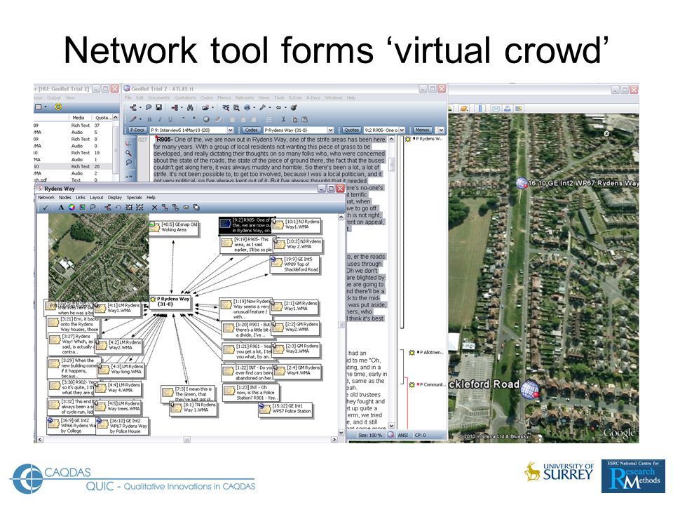 Network tool forms 'virtual crowd'