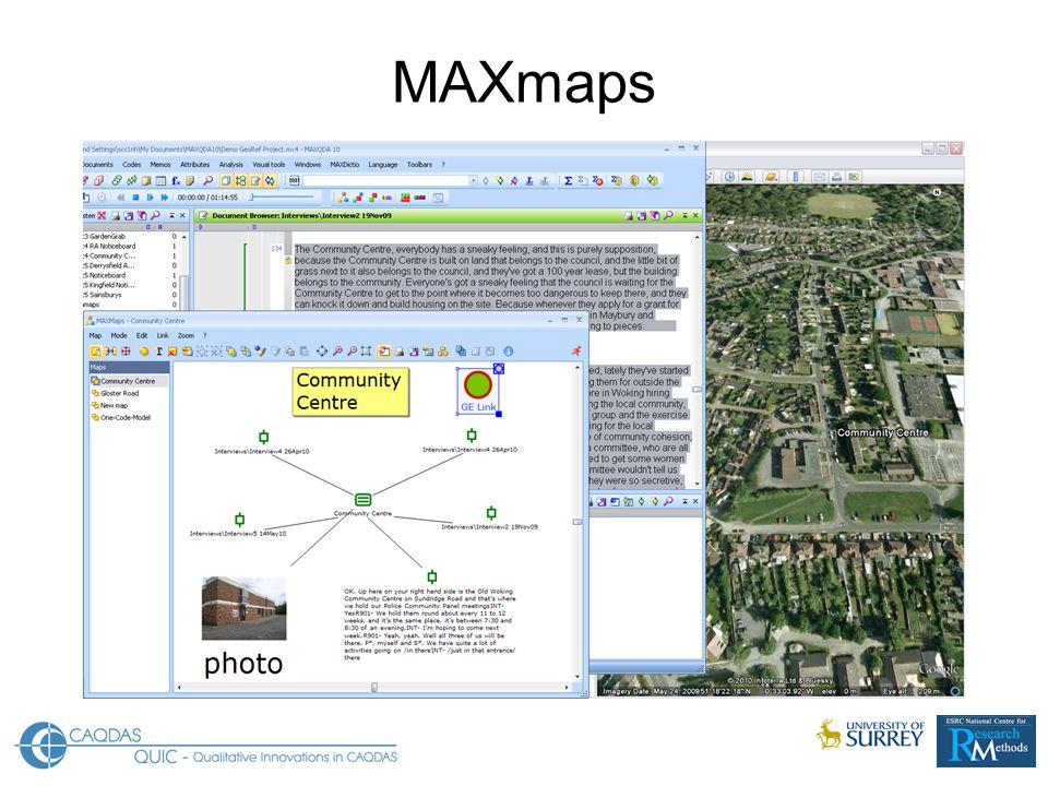 MAXmaps