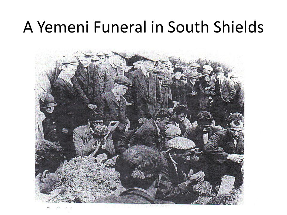 A Yemeni Funeral in South Shields