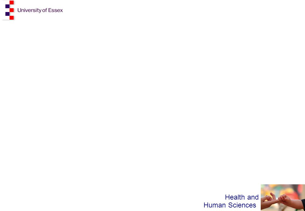 Health and Human Sciences