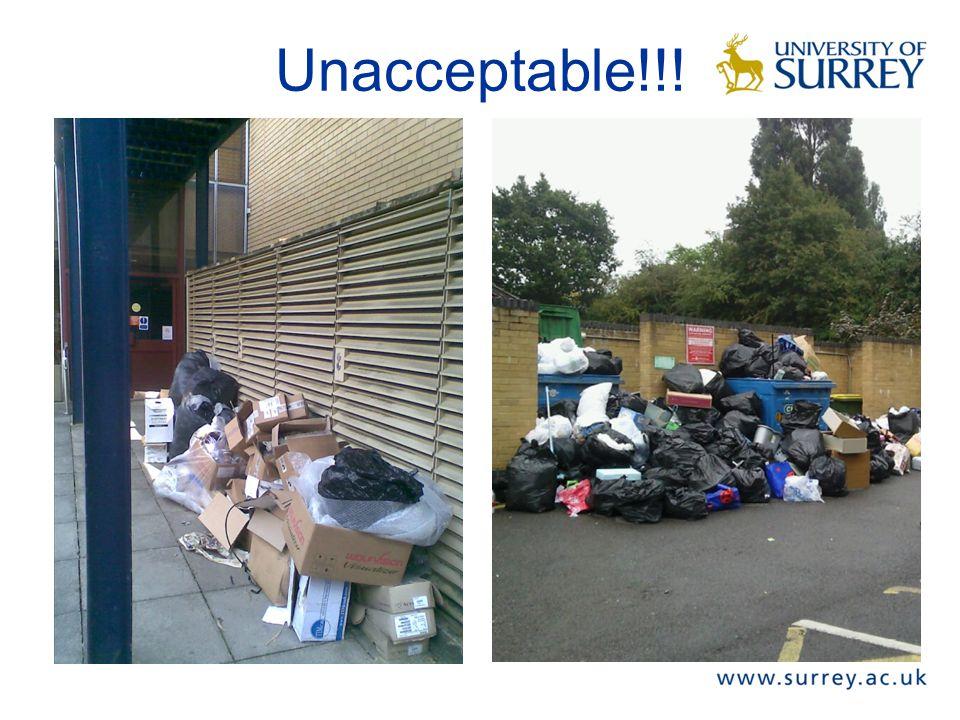 Unacceptable!!!