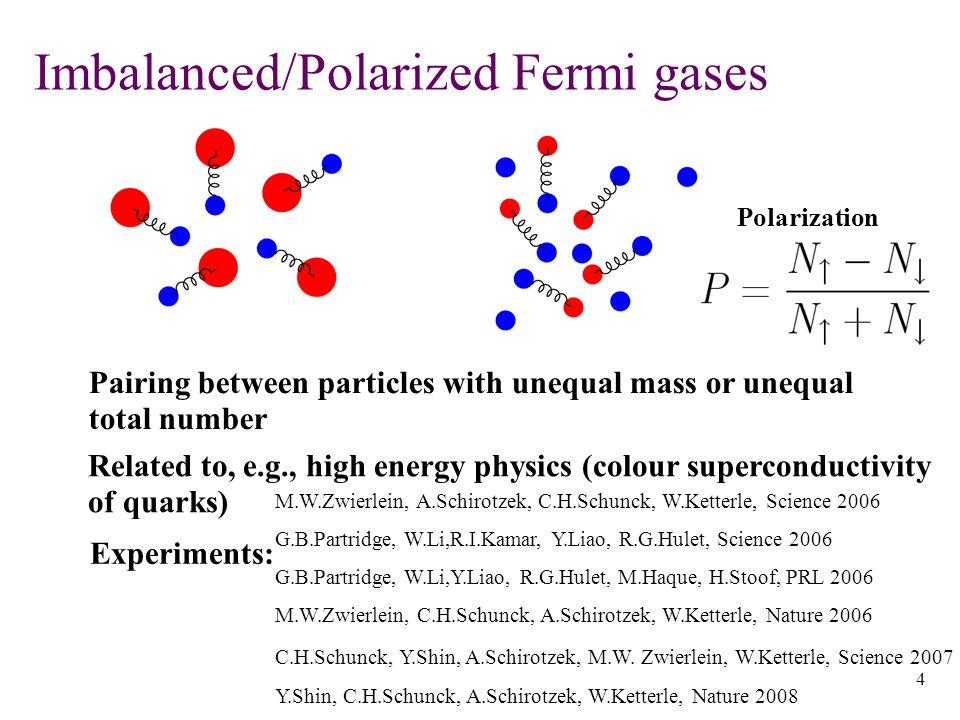 15 Exact numerical studies of RF-spectroscopy   1 >   2 >   f > Hartree mean fields - C.