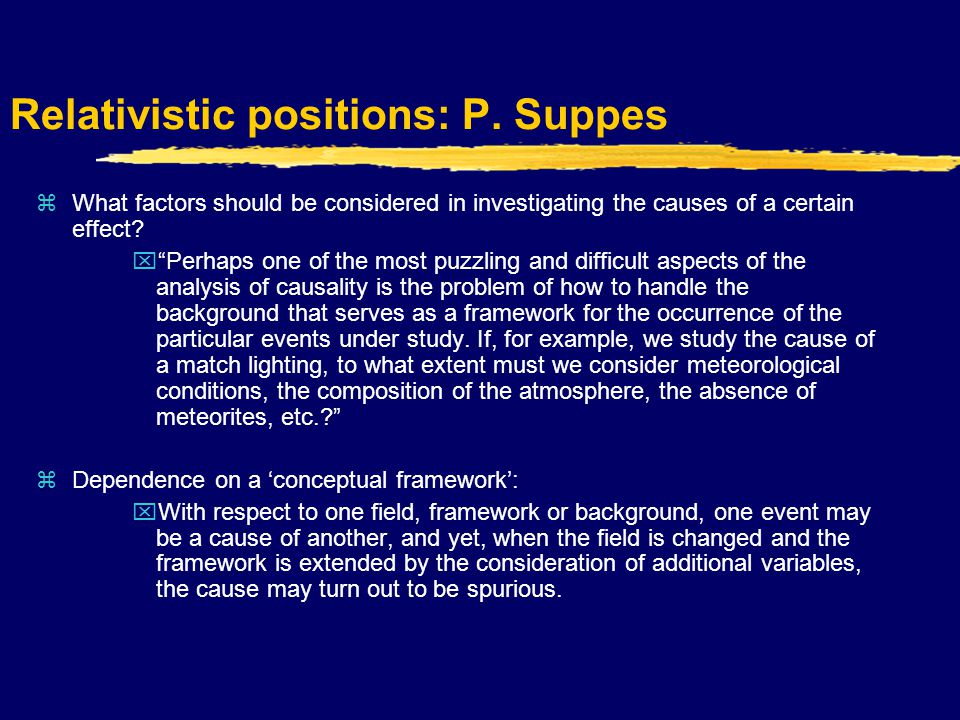 Absolutistic positions: J.S.