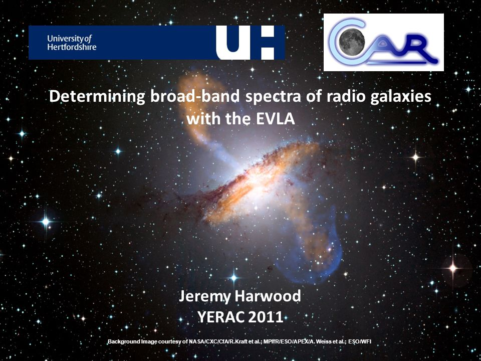 What are radio galaxies.