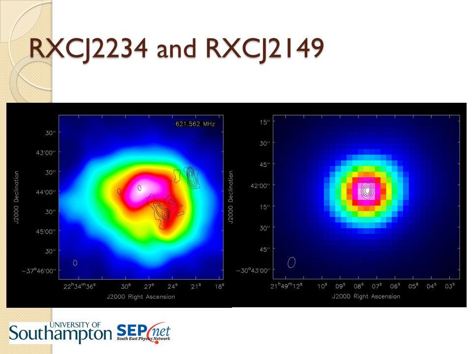 RXCJ2234 and RXCJ2149