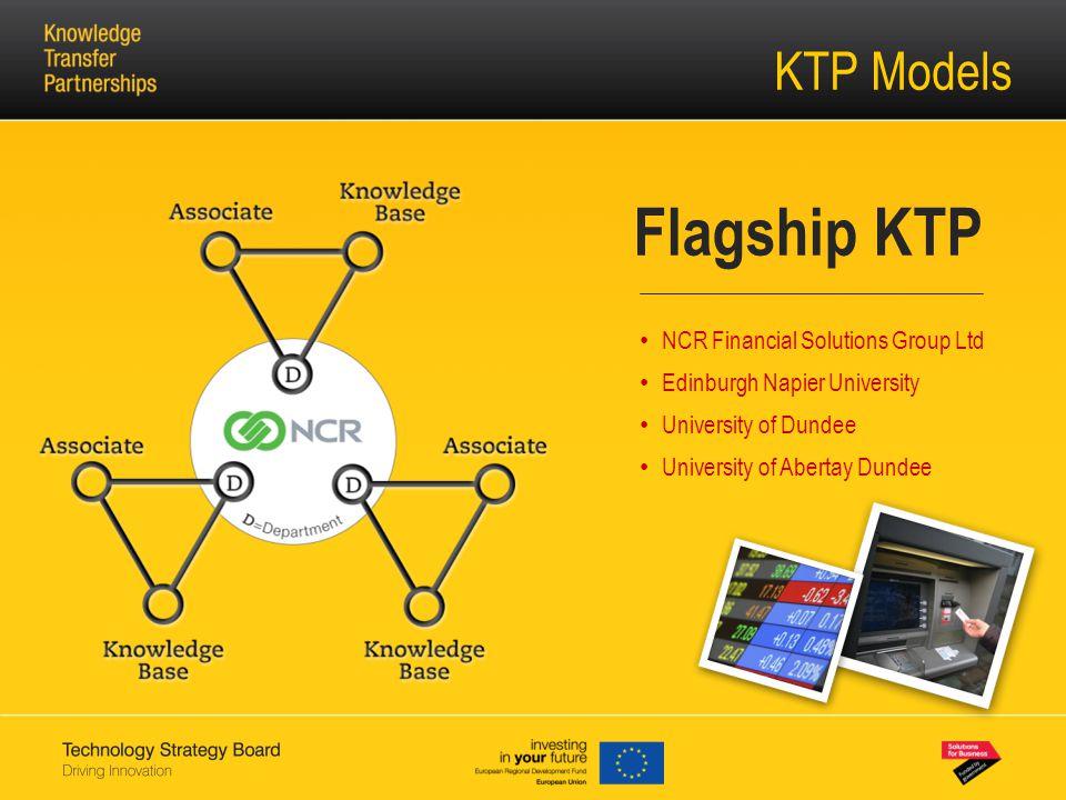 KTP Models Flagship KTP NCR Financial Solutions Group Ltd Edinburgh Napier University University of Dundee University of Abertay Dundee