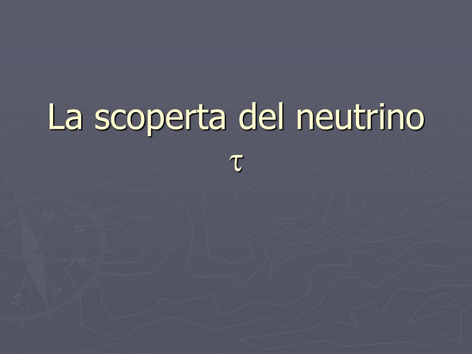 La scoperta del neutrino 