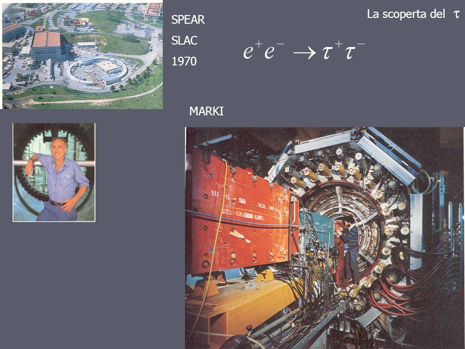 La scoperta del  SPEAR SLAC 1970 MARKI