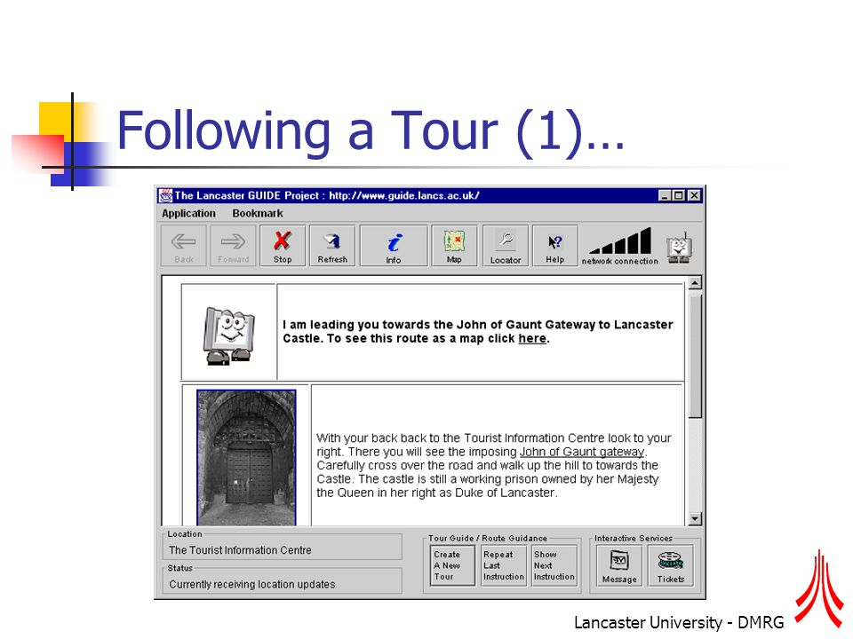 Lancaster University - DMRG Following a Tour (1)…