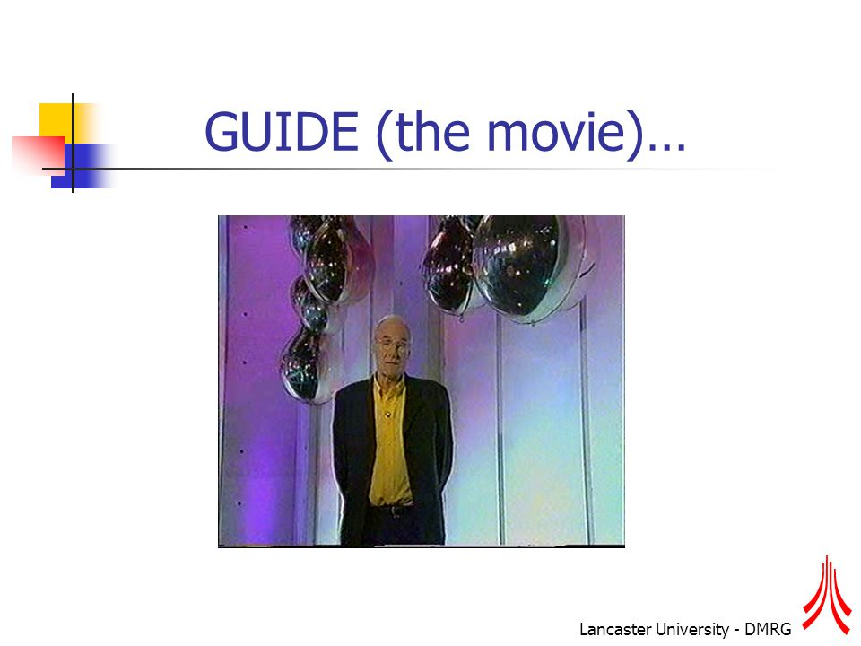 Lancaster University - DMRG GUIDE (the movie)…