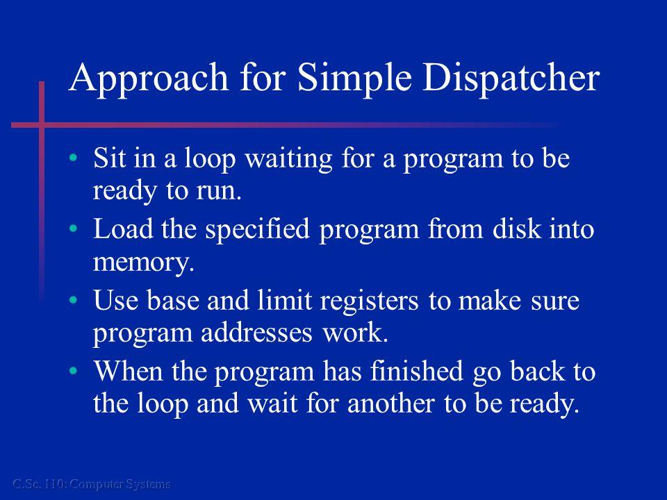Demo JUMPIDLE STARTIT:LDBASEBASETABLE+ JUMPSUBSAVE_IT IDLE:LDAPTE JNZDISPATCH JUMPIDLE 0 1 2 3 4 5 PTE =1 Acc =8 Base = 100 Limit = 199 Index =1