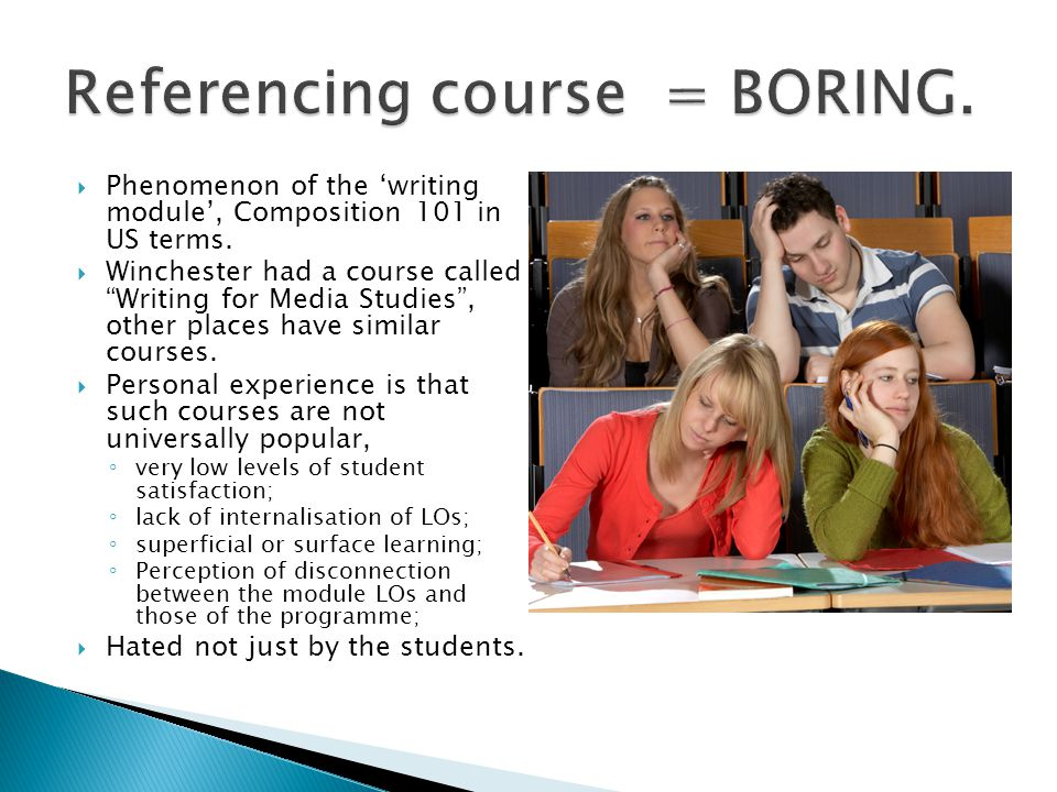  The key element of the module are the briefs and ensuring that the 'deliverables' require that students use the skills the course aims to develop and that the performance of the roles is obvious.