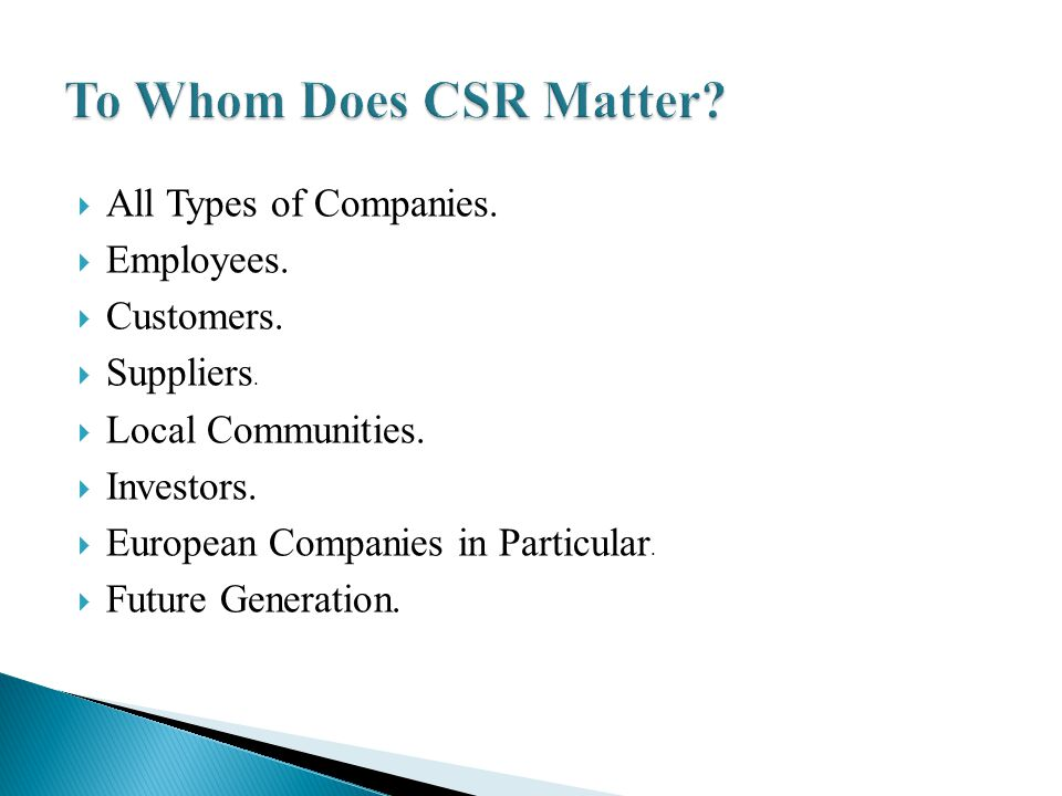Methodology Source: (Schwartz & Carroll, 2003) Carroll s (1991) Pyramid of Corporate Social Responsibility