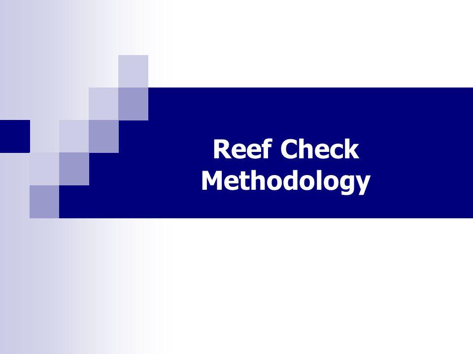 Reef Check Methodology