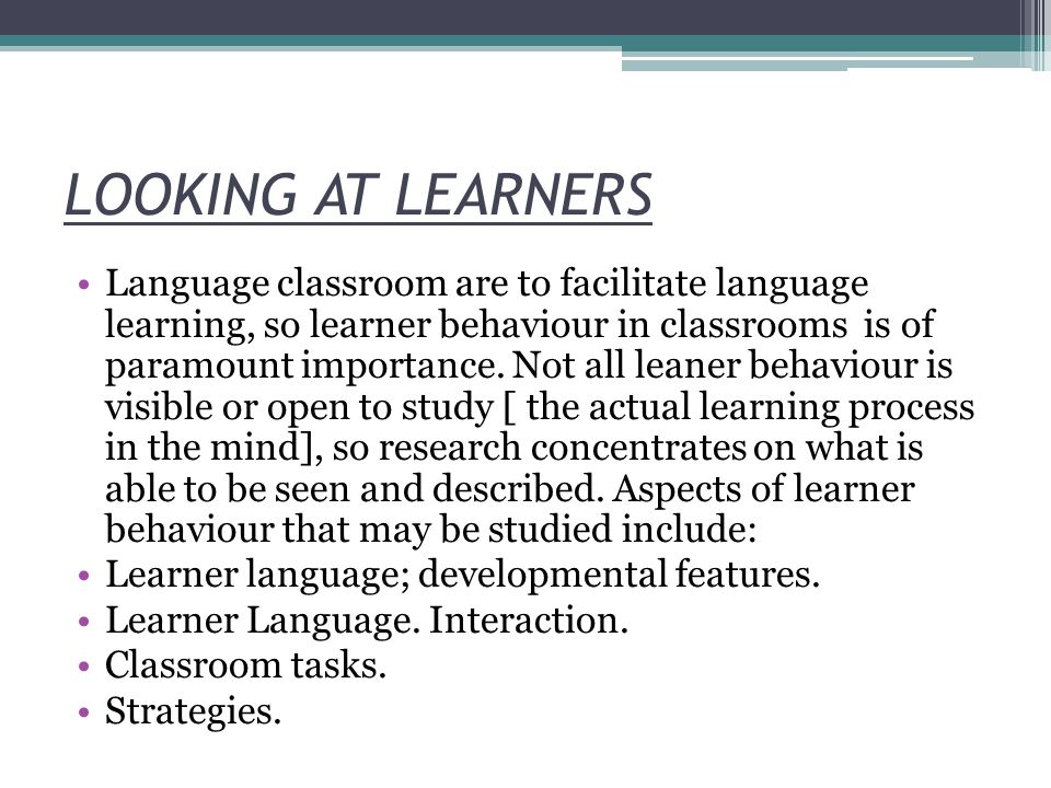 REFERENCES 2 Oxford, R.1990. Language Learning Strategies: What Every Teacher should Know.