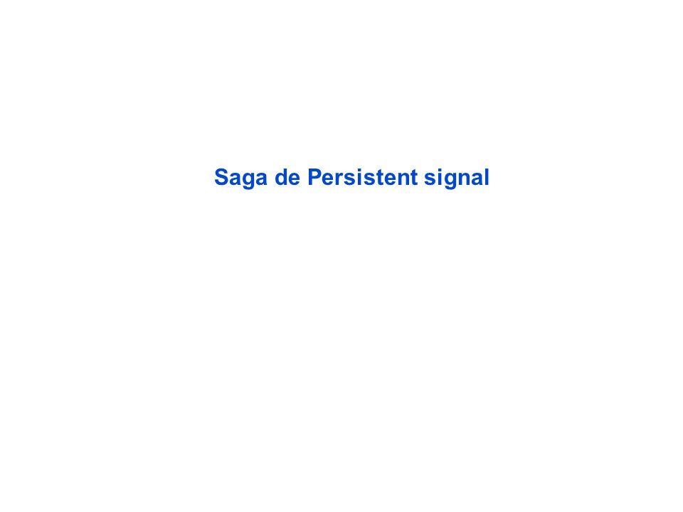 Saga de Persistent signal