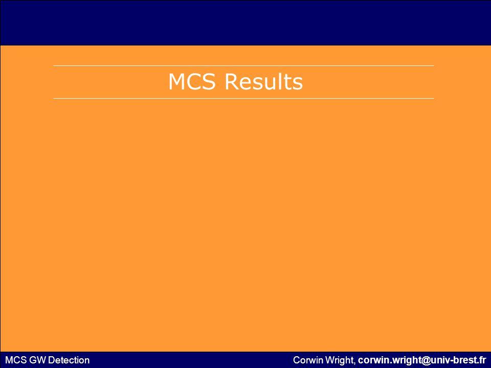 MCS GW Detection MCS – Sample Temperatures Source: McCleese et al (2010) Corwin Wright, corwin.wright@univ-brest.fr