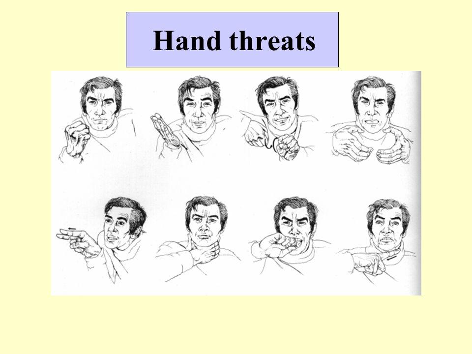 Hand threats