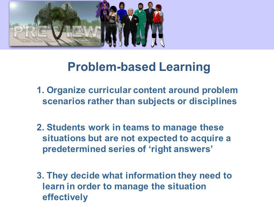 Problem-based Learning 1.
