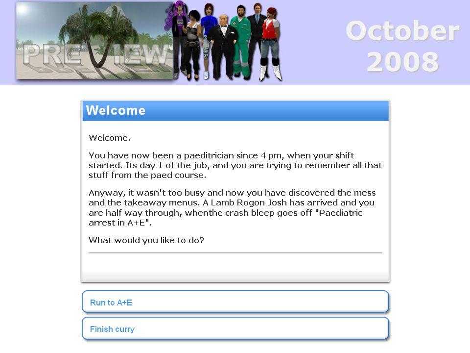 October2008 Where next.