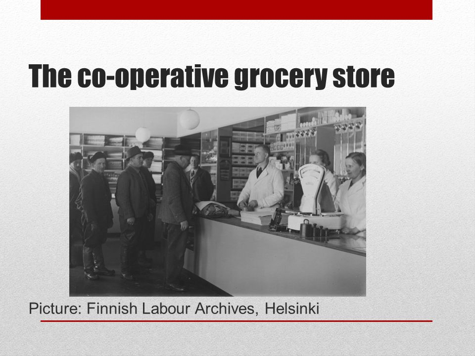 2) Co-operative history in relation to global history 1.Late C19th spread of co-operative ideas 2.1930s-1960s state involvement 3.1970s-1990s liberalisation and increased competition 4.2000- co-operative renaissance?